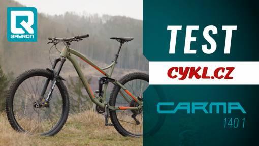 """Trail bike Carma 140 1 29"""" v testu redakce Cykl.cz"""