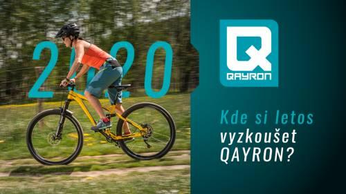 Kde letos otestovat Qayron?