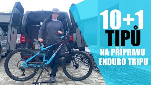 10 + 1 tipů na přípravu enduro tripu s Dominikou Durčákovou