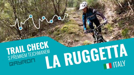 Trail check s Přemkem Tejchmanem - trail La Ruggetta