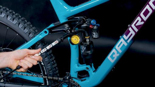 Jak nastavit odpružení (SAG) u svého kola?